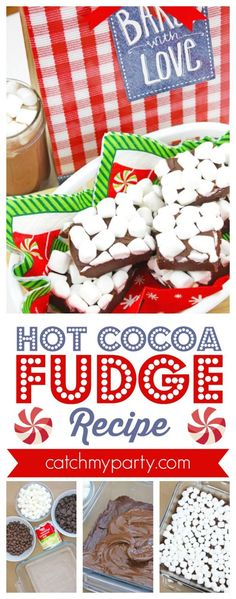 Advertisement Advertisement Hot Cocoa Fudge Recipe What you need: Powered by WPeMatico Hot Cocoa Recipe, Cocoa Recipes, Fudge Recipes, Chocolate Recipes, Thanksgiving Desserts, Christmas Desserts, Christmas Treats, Christmas Holiday, Holiday Ideas