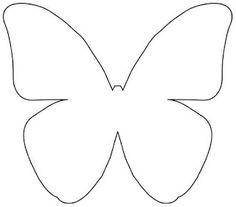 más y más manualidades: Como hacer un centro de mesa con mariposas