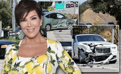 It is latest news that Kris Jenner's serious accident in new $250 Rolls-Royce takes place near her home in Calabasas. After the car accident of Kris Jenne