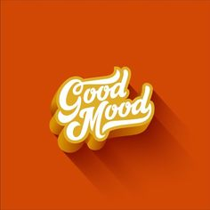 Good mood lettering calligraphic vintage... | Free Vector #Freepik #freevector #banner #poster #card #template Job Letter, Different Alphabets, Recipe Scrapbook, Valentines Day Background, Sale Banner, Lettering Design, Good Mood, Retro, Banner Design