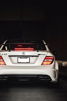 //Mercedes //C63 //AMG //Black Series