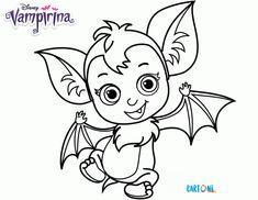 Vampirina Disegni da colorare - Cartoni animati