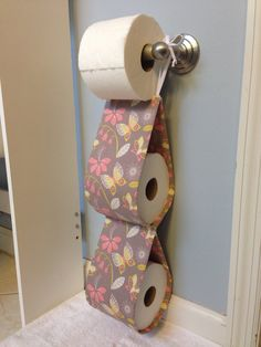 Double Spare Toilet Paper Holder by SimplySassySweet, $15.00