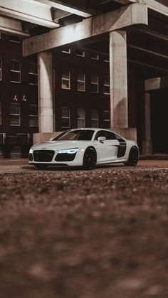 The latest iPhone11, iPhone11 Pro, iPhone 11 Pro Max mobile phone HD wallpapers free download, audi r8, audi, car, sports car, white, side view - Free Wallpaper | Download Free Wallpapers