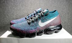 cheap for discount 8cbbf 65bf5 NIKE AIR VAPORMAX FLYKNIT RED BLUE BLACK 849558 403