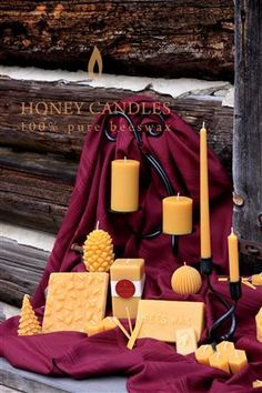 What is your Image of Beeswax Candles? Honey Candles® is not your everyday variety farmer's market beeswax candle!