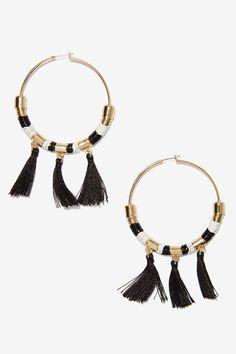Marnie Hoop Earrings | Shop What's New at Nasty Gal