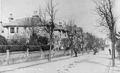 Oxford Road, Worthing - Looking North.