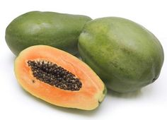 Spleen Enlargement:  Immerse cut ripe papaya in vinegar for a week, then consume twice a day with meals until spleen is normalized.