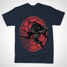 Kick Ass Teenage Mutant Ninja Turtles T Shirts | 16. Hidden Below – by FanFreak