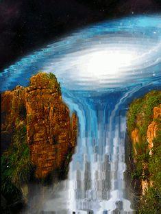 2 Schönste Wasserfall animation gif. - Bilder Land