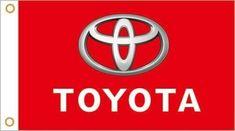 Toyota Daihatsu Flag Car Banner Auto Racing Motorsport Logo Toyota Daihatsu Motorsport Logo