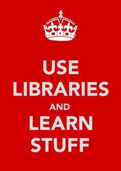 Use libraries like a librarian and learn even more!