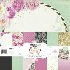 Kaisercraft All That Glitters Paper Pack Multicoloured | Spotlight Australia