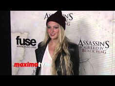 Kirby Bliss Blanton Assassin's Creed IV Black Flag Launch Party Hosted b...