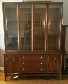 This Brasilia China Cabinet Is In Great Shape. There Is One Slight  Imperfection On The