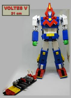 VOLTES  21 cm lego