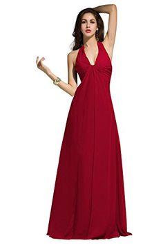 Dora Bridal Women Halter V-Neck Formal Evening Party Dresses Size 2 US Burgundy Dora Bridal http://www.amazon.com/dp/B0146GCH4U/ref=cm_sw_r_pi_dp_fGClwb172TRH4