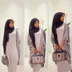The whole ensemble chic! Love the way the Scarf is wrapped the most <3 A.Jo Basma k