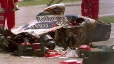 A perda de Ayrton em 1994.