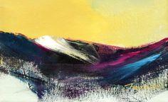 Evening light  by Scottish contemporary landscape painter J Mackintosh