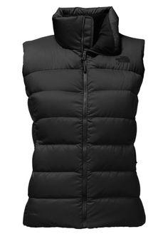 Black Puffy Vest
