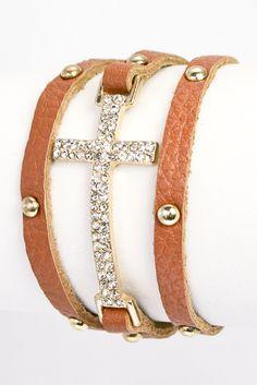 Cross Bracelet $18