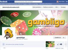 facebook gambligo Ltd. fanpage, concept, design