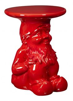 Red Gnome Table