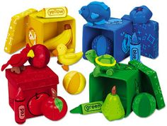 Color Discovery Boxes: Language ideas for preschool