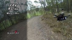 FPV Racing - White's Hill // Blackout Mini Spider Hex // MN1806 // CC3D on Vimeo