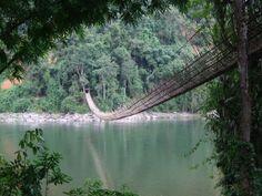 Bamboo Bridge | Kabu, India (South Asia)