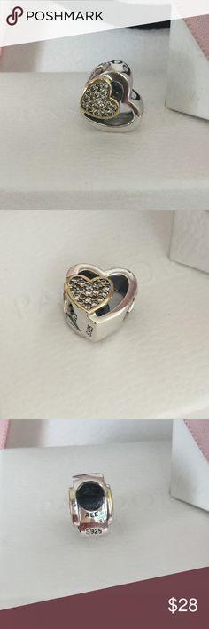 Pandora hearts 💕 charms Brand new pandora hearts 💕 charm Pandora Jewelry Bracelets