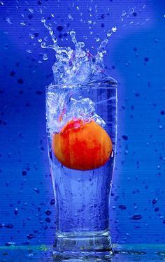 Orange et blue