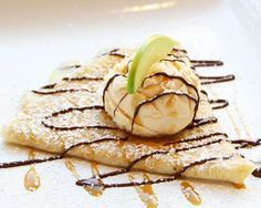 Crepes doces simples