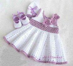 Vestido Tejidos Bebe