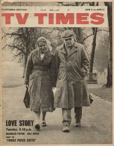 5th April 1964 Tv Times, Me Tv, Magazine Covers, Old Hollywood, Manchester, Love Story, Illustrators, Britain, Magazines