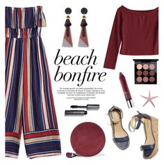 """Summer Nights: Beach Bonfire"" by helenevlacho ❤ liked on Polyvore featuring Diane Von Furstenberg, Bobbi Brown Cosmetics, Clinique, contestentry, zaful and beachbonfire"