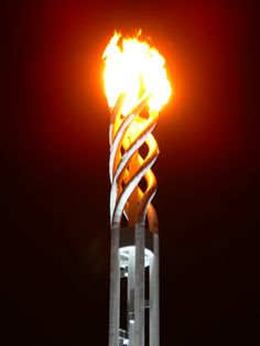 Olympic Cauldron - Turin, Italy - 2006 Winter Olympic Games