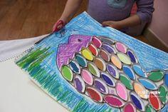 [IF놀이] 내가 만약 물고기라면?...언제나 토루와 함께 신나는 미술놀이:) : 네이버 블로그 Diy Recycle, Recycling, Beach Mat, Kindergarten, Outdoor Blanket, Bags, Activities, Crafts For Kids, Ink