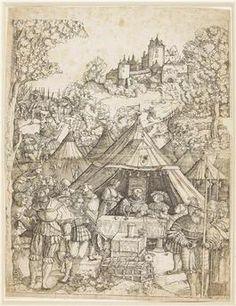 The Banquet - Albrecht Altdorfer