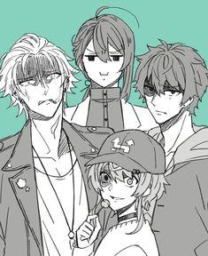 Jinguji be like Manga Anime, Anime Art, Handsome Anime Guys, Rap Battle, Art Sketchbook, Drawing Reference, Anime Couples, Art Sketches, Character Design