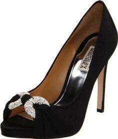 Amazon.com: Badgley Mischka Platinum Women's Janni Open-Toe Pump: Badgley Mischka: Shoes