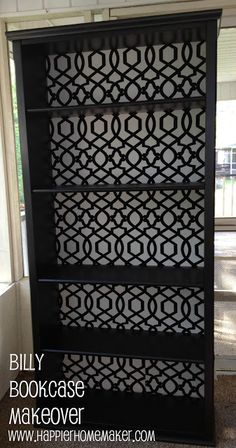 IKEA Billy Bookcase Makeover - The Happier Homemaker | The Happier Homemaker