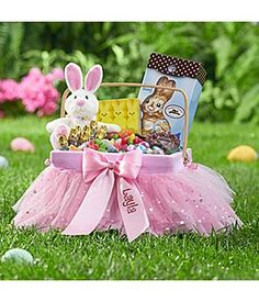 This is a cute idea for an easter basket i have a type one your little ballerina will love dancing around and collecting eggs with her tutu cute easter negle Image collections