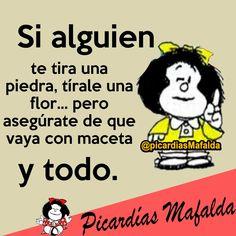 Lovely pin von hildaðÿœ¸ hernández auf mafalda Funny Spanish Jokes, Spanish Humor, Spanish Quotes, Funny Jokes, Words Quotes, Wise Words, Life Quotes, Sayings, Meaningful Quotes
