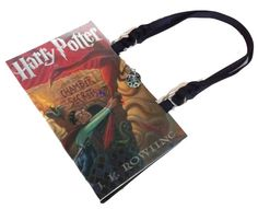Harry Potter & the Chamber of Secrets Book Purse - handmade