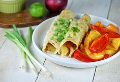 These unique Honey Lime Chicken Enchiladas are filled with a cheesy, honey lime chicken filling! Use a rotisserie chicken for an easy weeknight dinner! Honey Lime Enchiladas, White Chicken Enchiladas, Shrimp Enchiladas, Mexican Enchiladas, Honey Lime Chicken, Cream Chicken, Mexican Food Recipes, Ethnic Recipes, Mexican Dishes