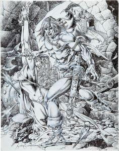 Rudy Nebres Comic Art | 157 best images about Rudy Nebres on Pinterest | Conan comics, Mars and Swords