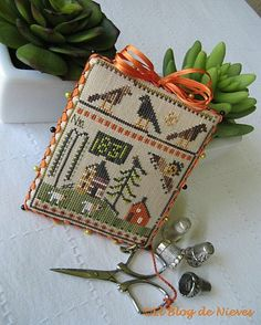 Blog Nieves. Work and Cross Stitch: The Goode Huswife